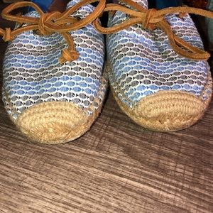 Sperry Shoes - Sperry Top Sider Boat Shoe Blue Espadrille